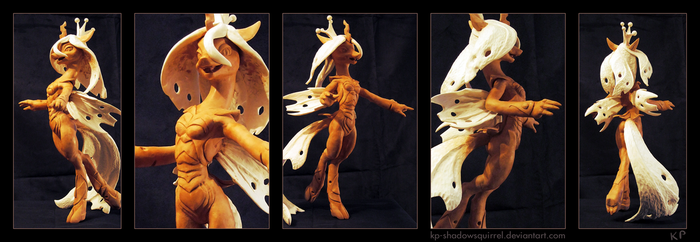 Chrysalis Sculpture by KP-ShadowSquirrel