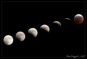 Lunar Eclipse March 2007 by Ildefonse