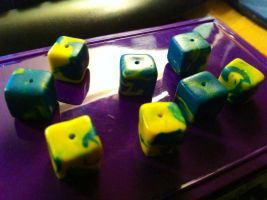 Cube Beads by Sigilien
