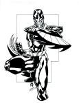 Darkhawk Inks by Crausse