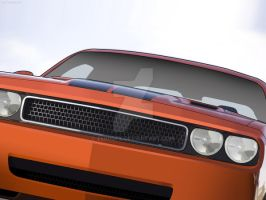 Dodge Challenger by Zer0Gfx