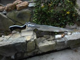 Squall's Revolver Gunblade by Kaze-The-Dark-Wind