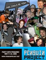 Penguin Project Flyer by pinguino