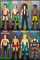WWE OCs: My Superstars Pt. 2 by TerenceTheTerrible
