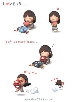 106.  Love is... Gift by hjstory