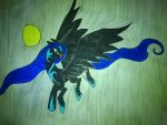 lady of the night by cynderplayer