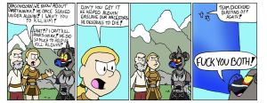 Skyrim: Kill Paarthunax??!!!! by TeamTeaandBiscuits