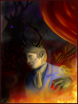 Hannibal - The Devil, of course by FuriarossaAndMimma