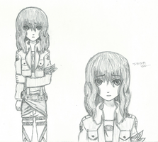 Alice Browning: Snk-Aot OC by EvermoreJK