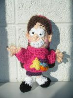 Mabel Pines Amigurumi by AngelAndChangeling