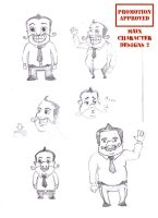 Animation character designs 5 by Guido37