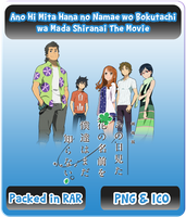 Anohana - Movie Icon by Rizmannf