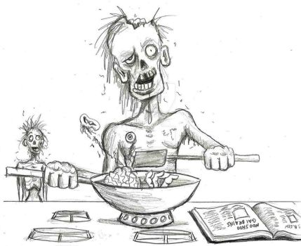 Wokking Dead--WIP Pencil by Franz-Josef73