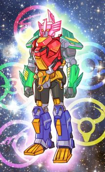 Orion Megazord by Lysergic44