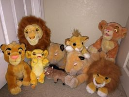 Lion King Collection Plush Sale GONE by KasaraWolf
