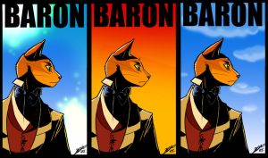 Just the Baron by kiwifluff