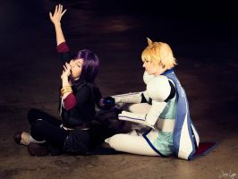 Yuri and Flynn Cosplay from Tales of Vesperia by SNTP