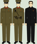 Selection of North Korean Uniforms by bar27262