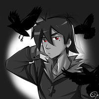 PC | The Crow by GReih