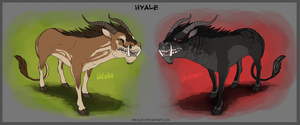 Adoptables - Hyale by Mikaley