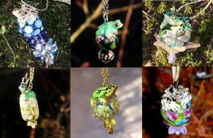 Frog collection by Milwa-cz