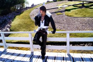 Squall Dissidia VIII by alsquall