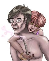 Tonks Loves Remus by ShrunkenJedi