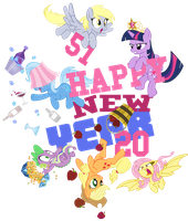 Happy New Things 2014 by PixelKitties