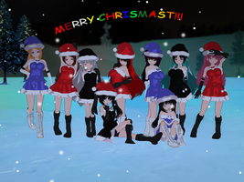 .:Merry Chrismast:. by Anini-Chu