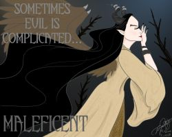 Maleficent -evil is complicated by E-Ocasio