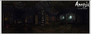 Amnesia: Dark Descent Pano II by Riot23