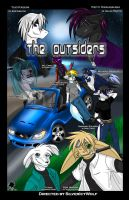 Project - The Outsiders Poster by silvericywolf