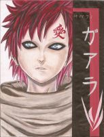 Practice Drawing: gaara seems real... by eirol87