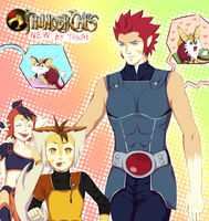 Thunder, Thunder, Thundercats... by hyuugalanna