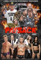 WWE Payback 2013 Poster V2 by Chirantha