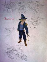 Scarecrow sketch by twisted-wind