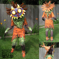 LoZ: Skull Kid - Chicago ComicCon 2014 by Screeches