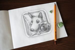 iOS icon Sketch by Icondesire