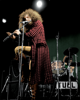 Jethro Tull Colorized (1970) by GQRodrigues