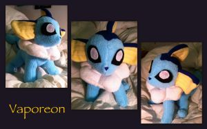 Chibi Con Commission - Vaporeon by CeltysShadow