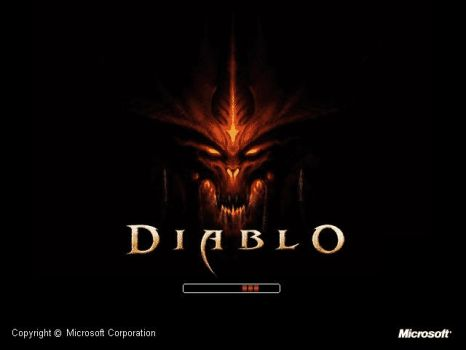 Diablo 3 Bootskin for WinXp by LordDiablo006