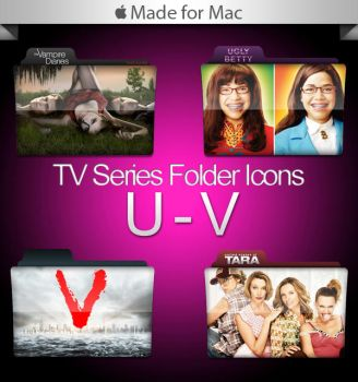 -Mac- TV Series Folders U-V by paulodelvalle