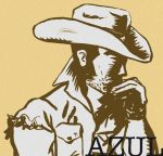 Azulcowboy-02-fb by sawred