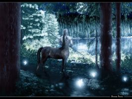 Moonlight Centaur by lifebytes