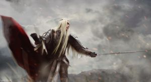 TH: The Battle of the Five Armies - Thranduil by MilliganVick