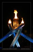 Olympic Flame. by Bleezer