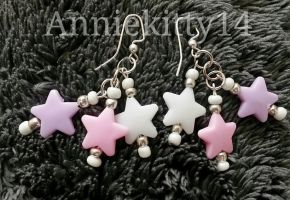Pastel Stars by anne-t-cats