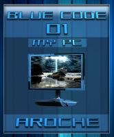 Blue Code 01 - My PC by aroche