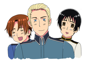 Hetalia - The Axis Powers by ShadowCutie1