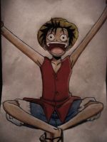 Mugiwara no Luffy by naldojunio